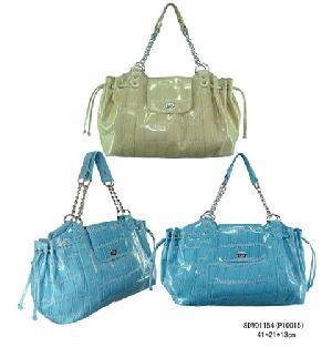 pu croco fashion handbags
