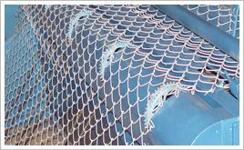 galvanized e wire chain link fence