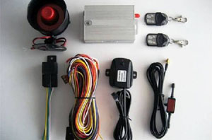 gsm car alarm system vehicle security gps