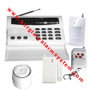 telephone landline auto dialer wireless security alarm system