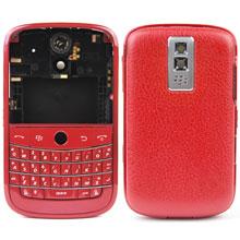 blackberry bold 9000 housing faceplate cover frame metal ferrari