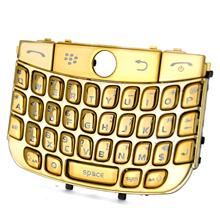 blackberry javelin curve 8900 titanium keypad keyboard gold