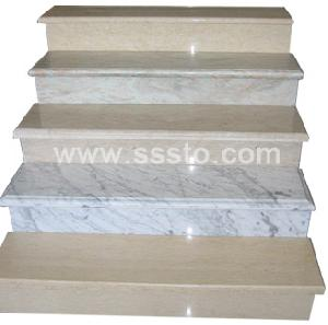granite stairs stone steps risers stair