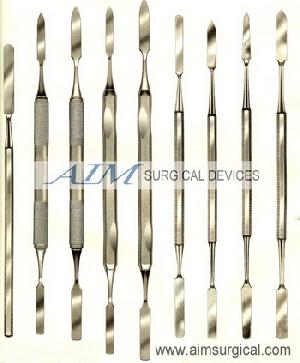 cement spatulas dental instruments