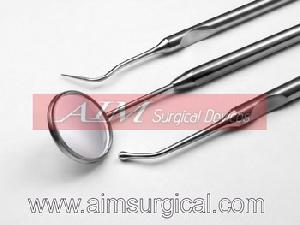 dental forceps mouth mirrors scalers probes