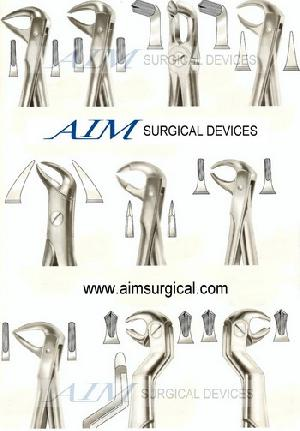 dental instruments extraction