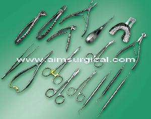 manufacturers dental instruments forceps trays scalers probes