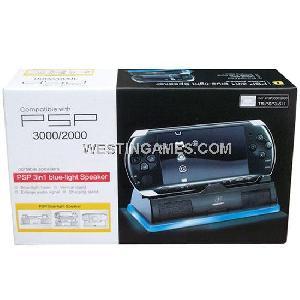 psp2000 3000 blue light speaker
