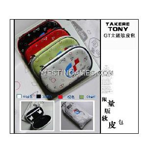 psp2000 psp3000 gt racing theme soft handbag