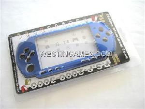 psp3000 aluminous shell blue pink silver gold