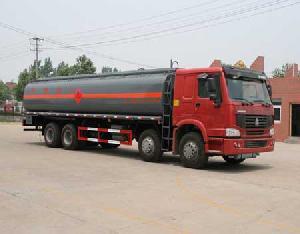chemical liquid truck