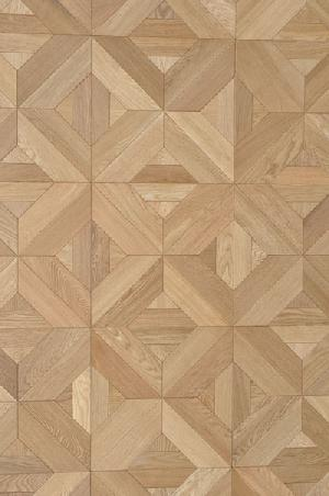 oak brushing parquet