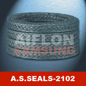carbonized fiber packing reinforced inconel wire