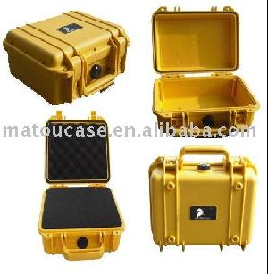 2 plastic tool case