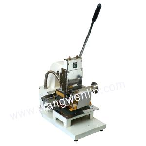 credit card gilding machine
