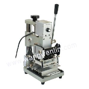 manual card tipping machine