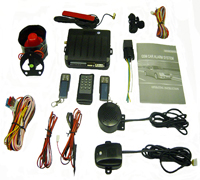 gsm gprs car alarm system