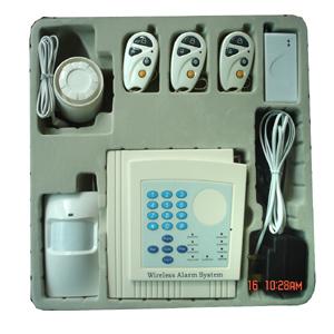 wireless burglar alarm controller