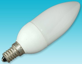 candle shape compact fluorescent light