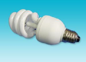 half spiral negative ion energy saving light