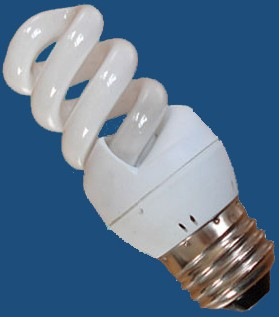 spiral shape energy saving light power illuminance