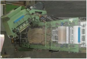 battery plate oxide pasting machine