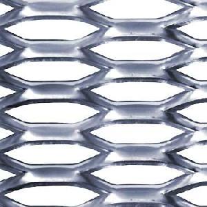 expanded metal grating stainless steel aluminium titanium