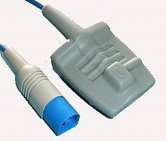 hp m1191a adult silicone soft tip spo2 sensor m4 m2601a m3000a m3500b m4735a