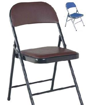 upholstery folding metal chair foldable seat furniture
