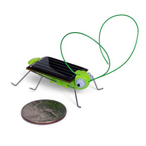 gadget solar powered locust bot robot