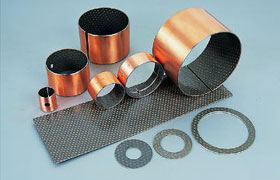 dx bearing boundary lubricating bushes composite metal bushings bushing plain beari