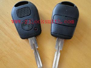 bmw 2 button remote key shell