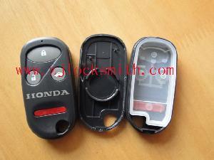 honda 4button remote shell