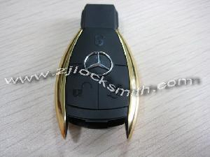 mercedes crome smart key cover 3button