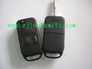 merceds 3 button flip remote key cover