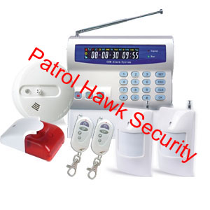 wireless home alarm panel system kits