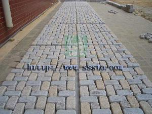 wholesale granite tumbling stone granit cubic building g603 g635 g682