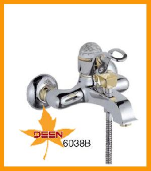 brass shower faucet gold imitation finish