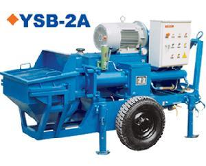mortar pumping machine