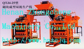 qtj4 25 –head block machine line