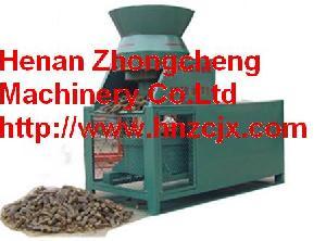 straw fuel molding machine