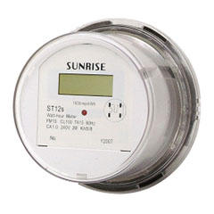 phase ansi residential electricity meter
