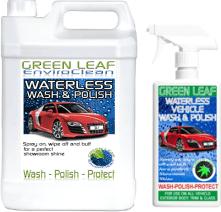 greenleaf waterless car wash polish
