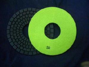 7 wet polishing pads