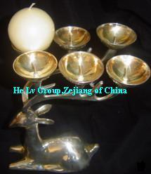 metal craft candle holder decoration