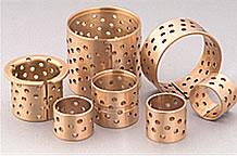 wrapped bronze bearing bushing friction sleeve lubricating