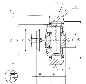 combined bearing wd