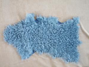tibet lamb plate cushion blanket skins