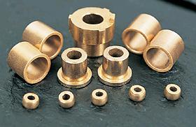 sintered bronze bearing bush oil impregnated
