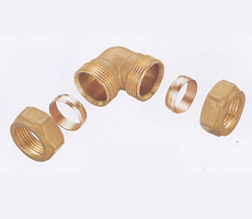 brass fittings copper pipe